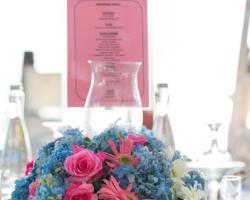 Flower centerpiece guest table option II