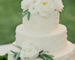 four season sayan wedding cake