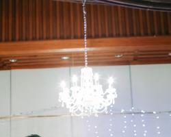 Hanging candelier for rent
