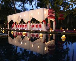 Kayumanis wedding dinner - Main Pool