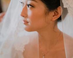 makeup & hair do bride