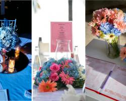 option flower centerpiece