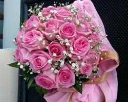 rose pink bouquet