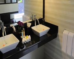 Flamingo Dewata - Studio Villa`s bath room