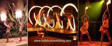 modern fire dance
