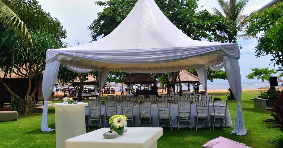 Bali Tent For wedding