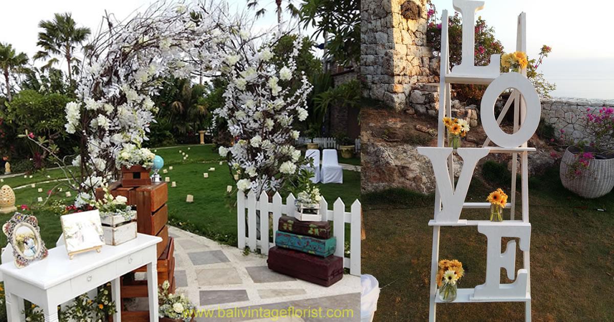 Bali vintage florist