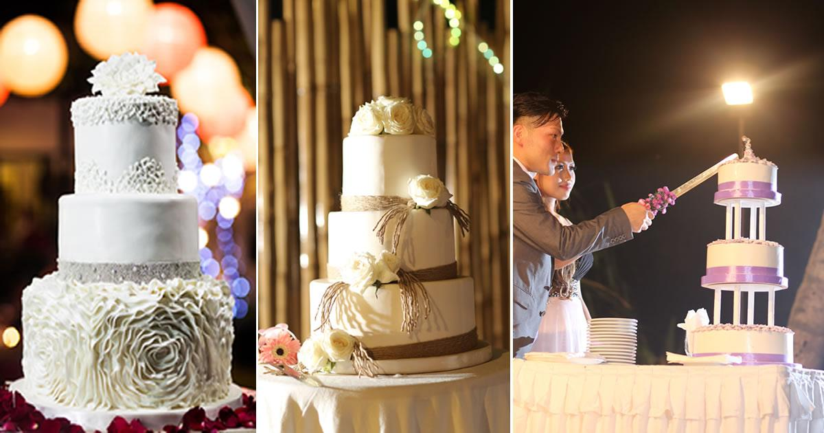 Bali Wedding Catering Cakes