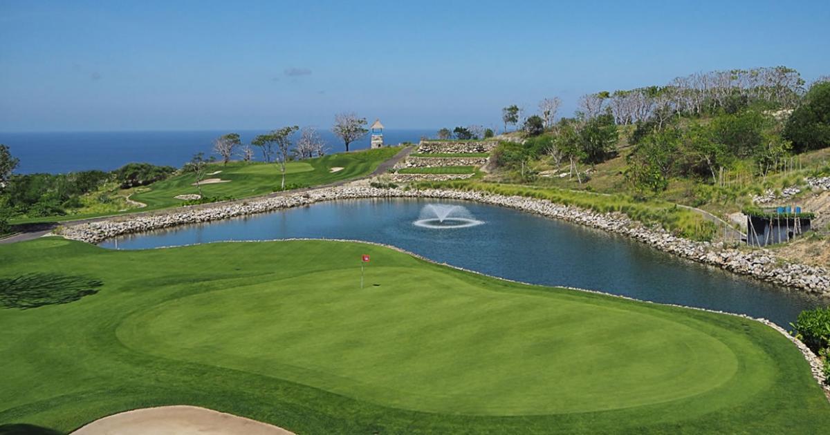 Bukit pandawa golf wedding venue