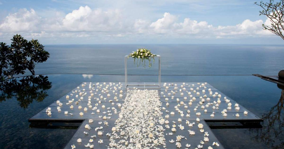 Bulgari Resort Bali Wedding Venue