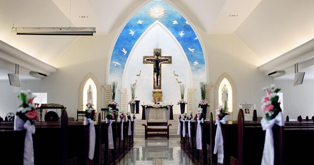 Catholic Church St. Fransiskus Xaverius - Bali Wedding Venue