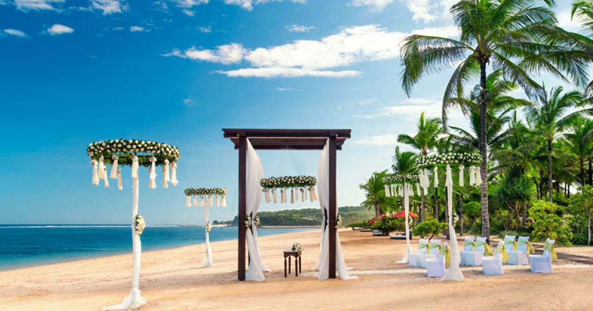 St Regist Bali Wedding Venue