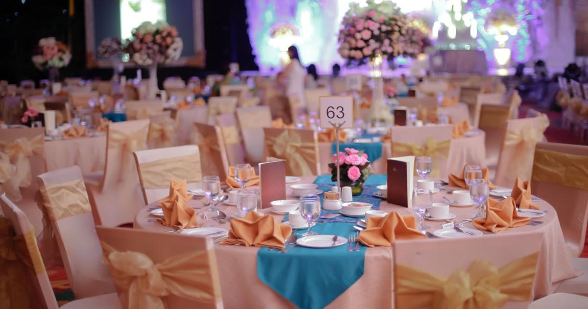 Bali wedding catering -Theme dinner decoration