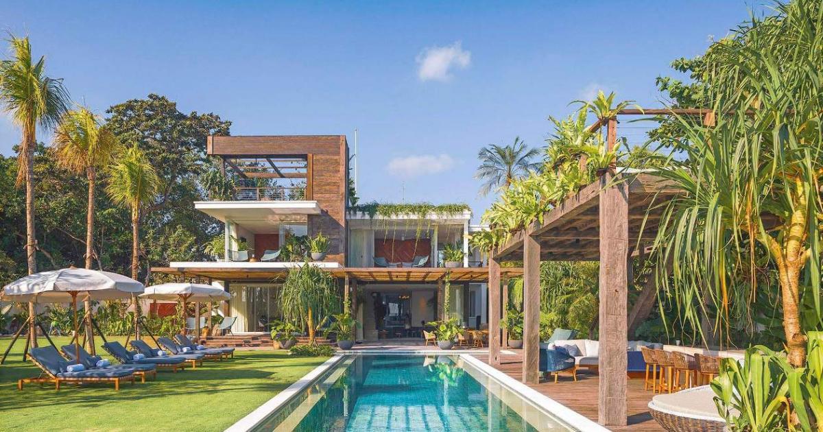 Noku Beach House Modern Villa Feature Bali Villa Wedding