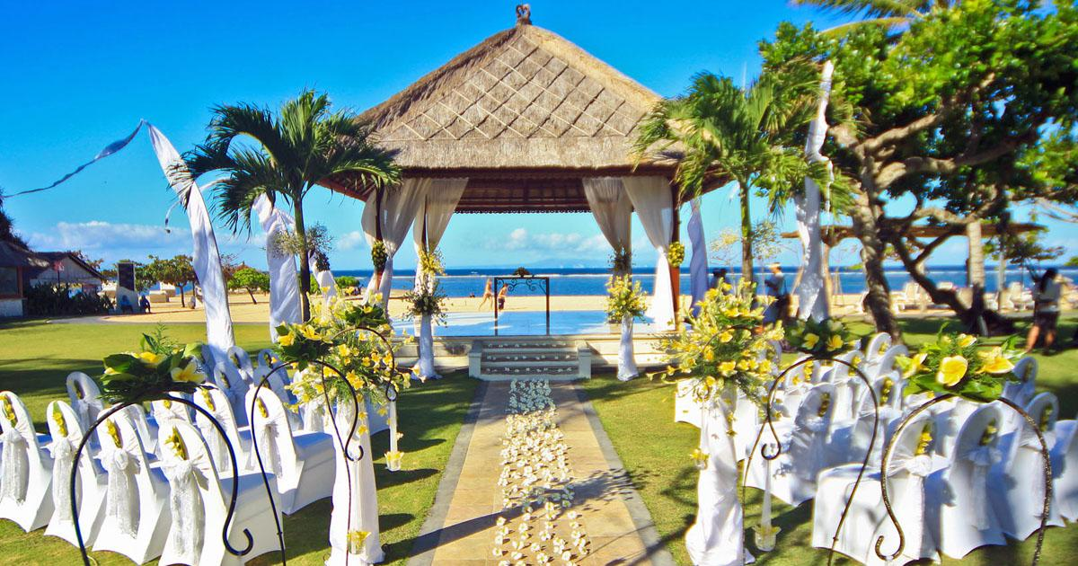 Nusa Dua Beach Hotel Bali Wedding Venue