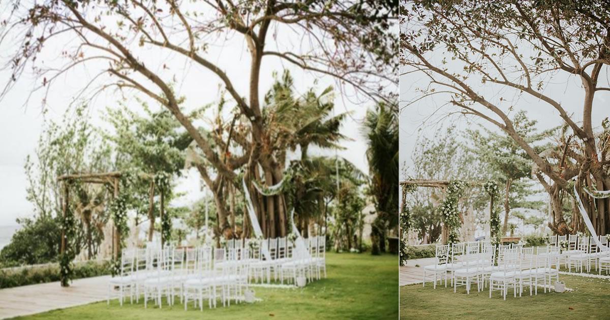 Bali padma wedding