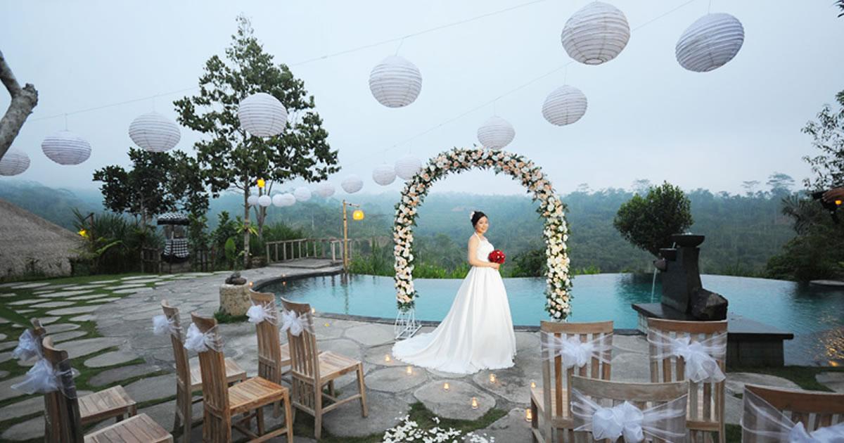 Puri Sebatu Wedding in ubud