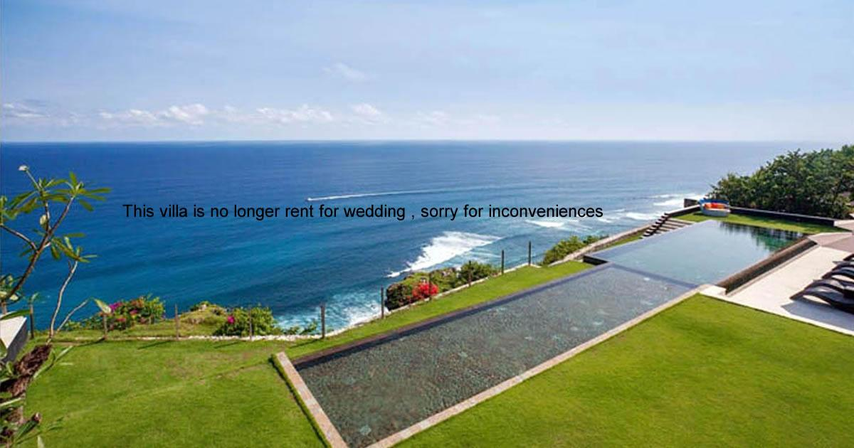 The Sanctus Bali Wedding Venue