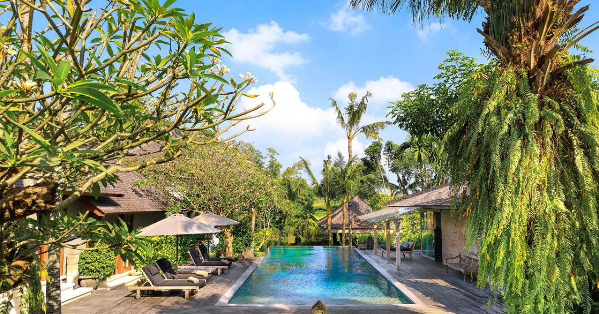 Villa Hansa Pool Perfection Villa Wedding in Bali Canggu