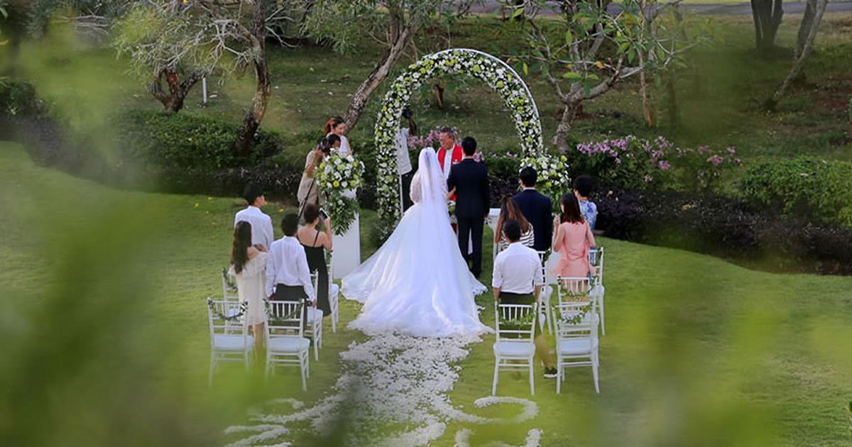 wedding ceemony le grande Pecatu