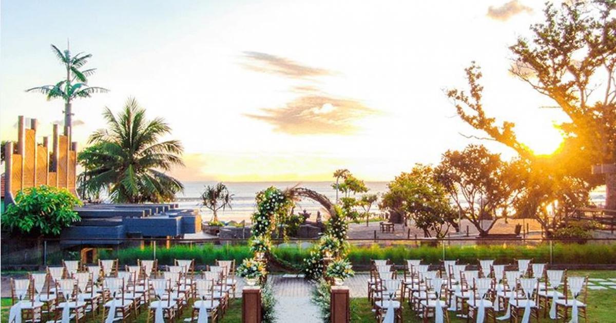 hotel indigo seminyak beach wedding venue