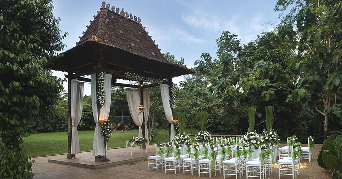 plataran canggu wedding venue