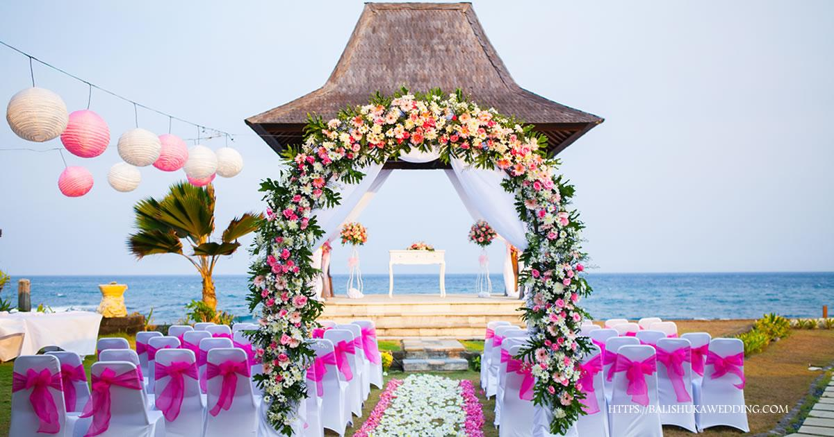 Suarti villa bali wedding venue bali shuka wedding for Bali wedding decoration ideas