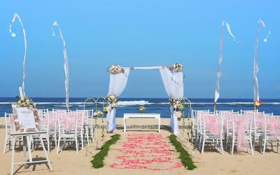 Beach Wedding Bali National Golf...